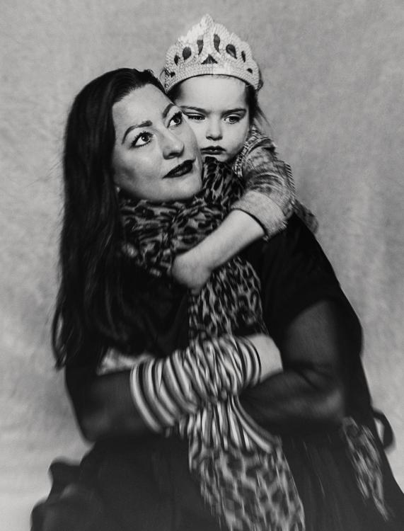 Danielle van der Velden met dochter Maeve (4)