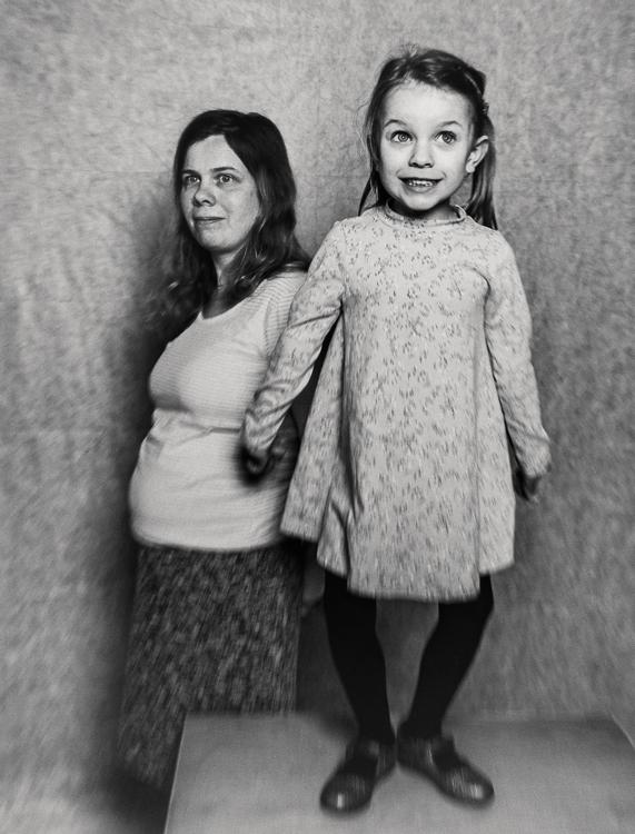 Angelina Rebers met dochter Riley (5)