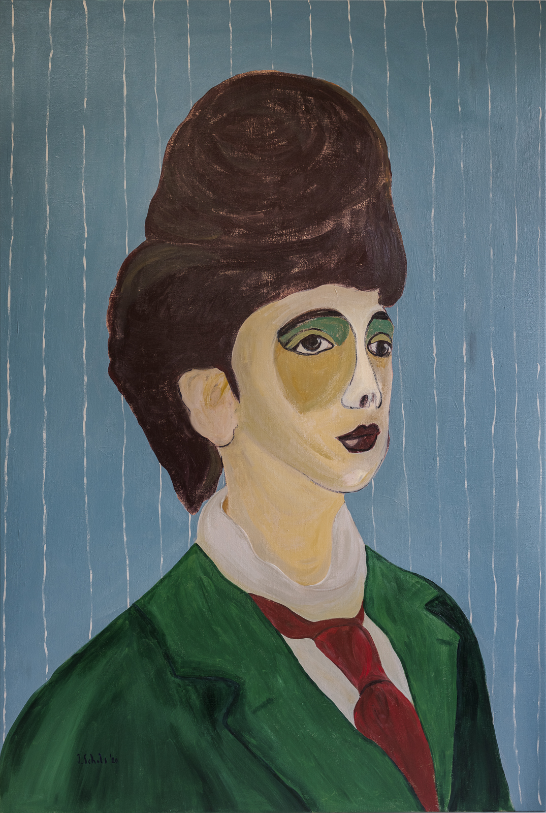 MORE INFO & PRICINGTitle: DorisAcrylics on linen canvas100 x 150 cmMore details 'Doris'